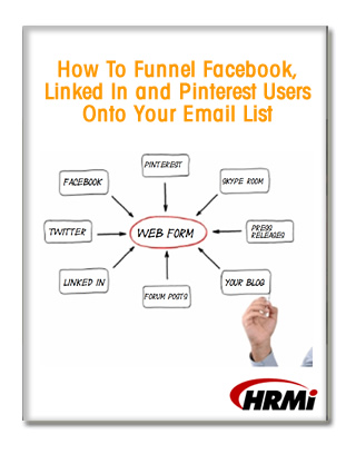 How To Funnel Facebook, Linked In and Pinterest Users Onto Your Email List